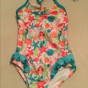Disney Mermaid Swim Suit NEW